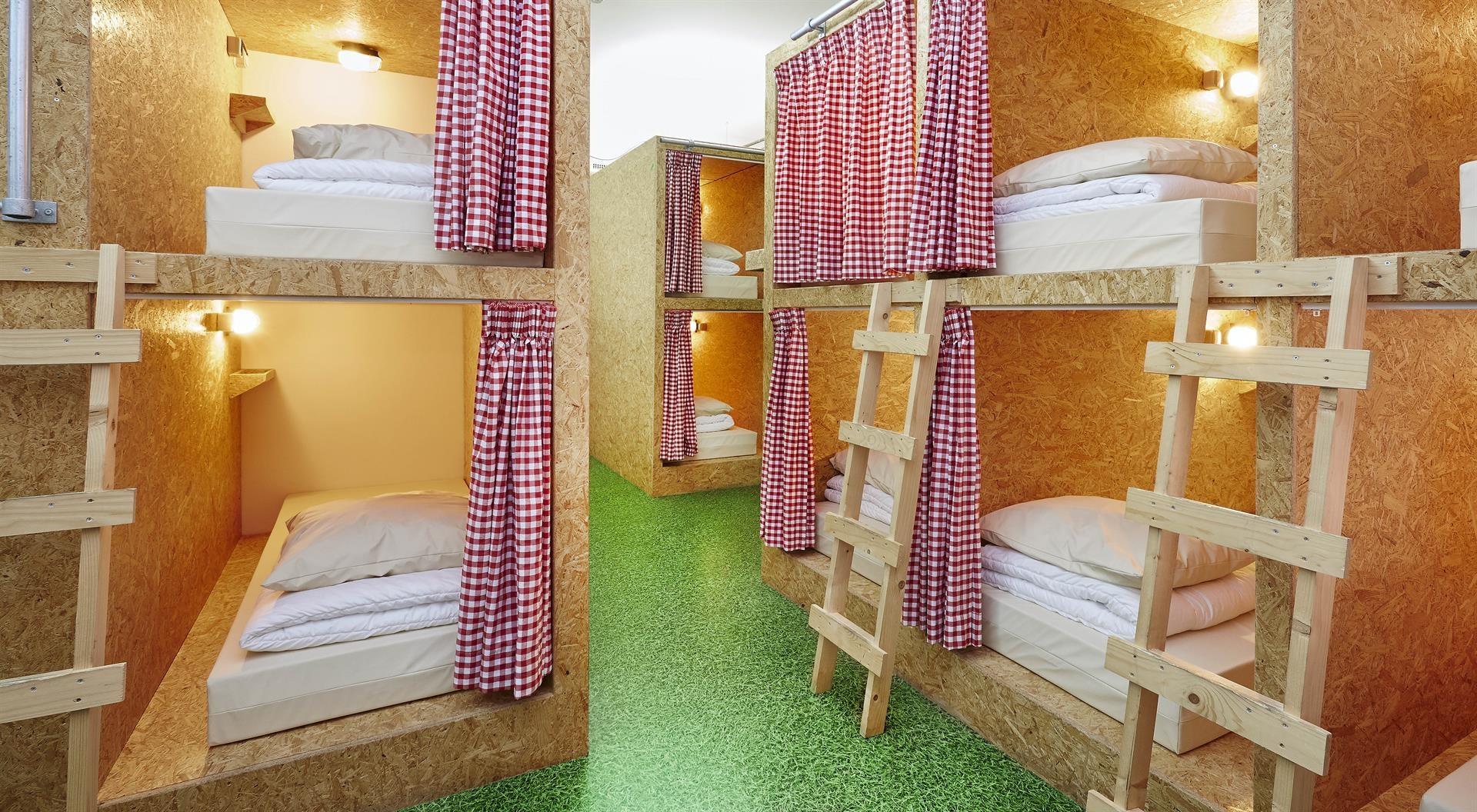 a dorm at Kingkool Hostel in The Hague
