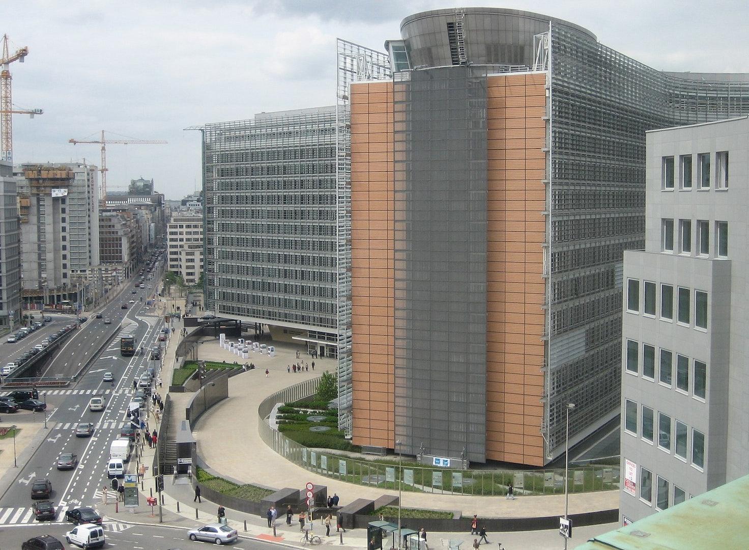 Brussels - Berlaymont building