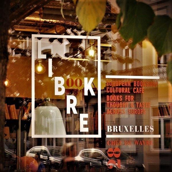 Brussels - Librebook bookstore shop window