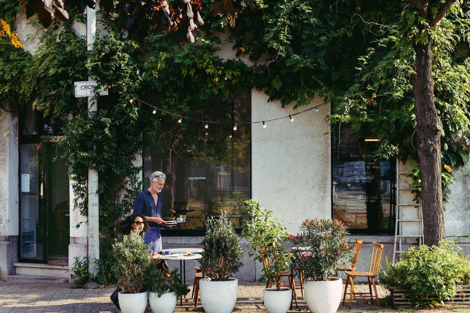 Antwerp - September terrace