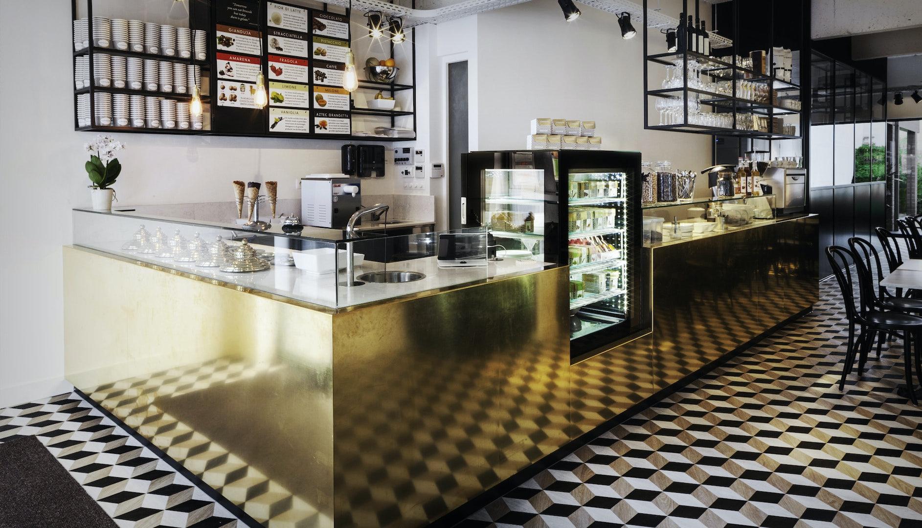 Antwerp - Cremerie Germaine interior