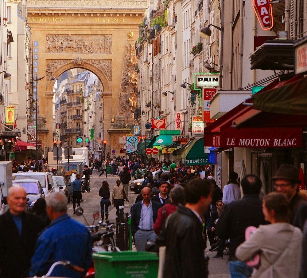 Paris - Rue du Faubourg St Denis street view