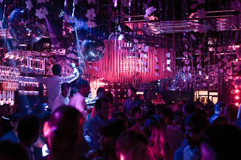 club interior of Mynt Miami