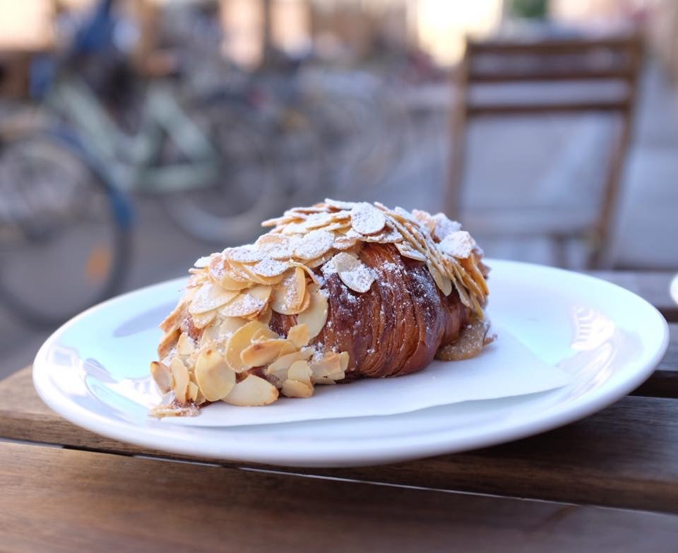 Copenhagen - Democratic coffee almond croissant