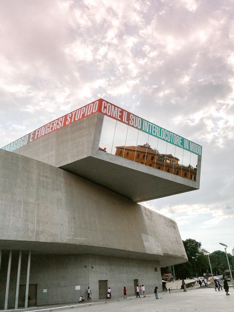 Rome - Maxxi Museum facade