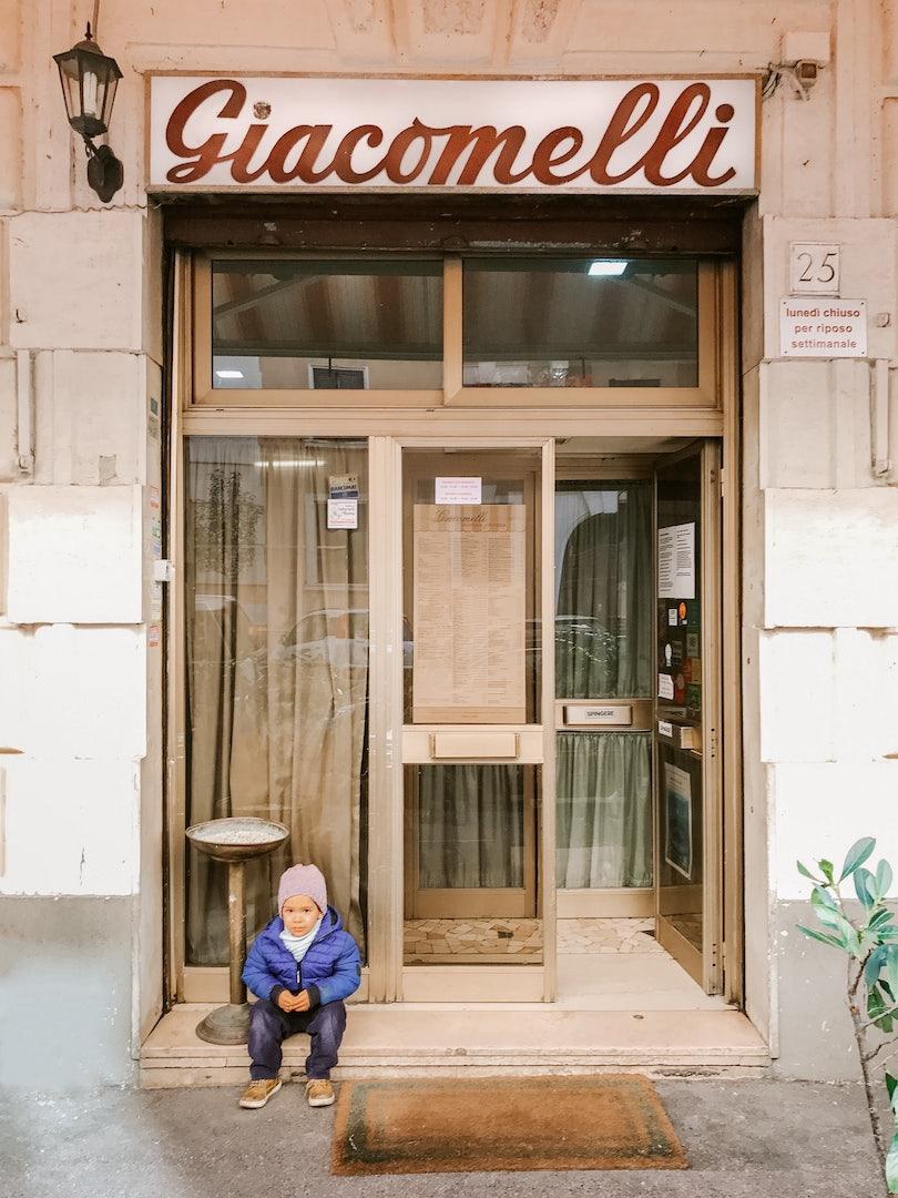 Rome - Pizzeria Giacomelli