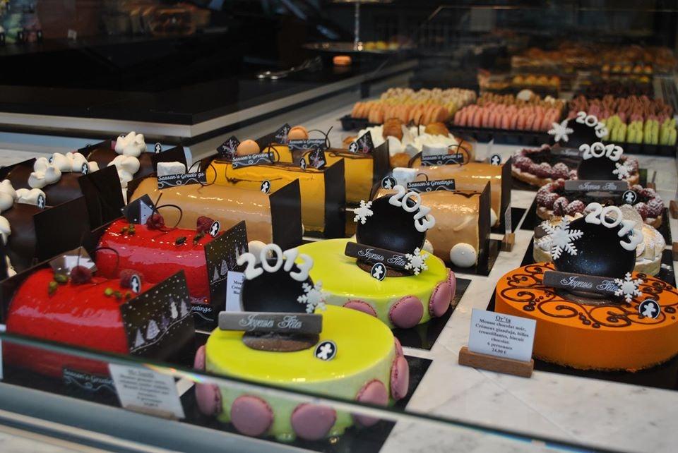 colourful cakes from Nicolas Arnaud