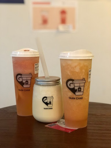 bubble teas from Taan Char in Vancouver