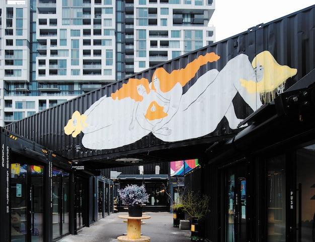 Stacktmarket in Toronto