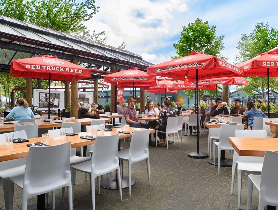patio at Edible Canada bar