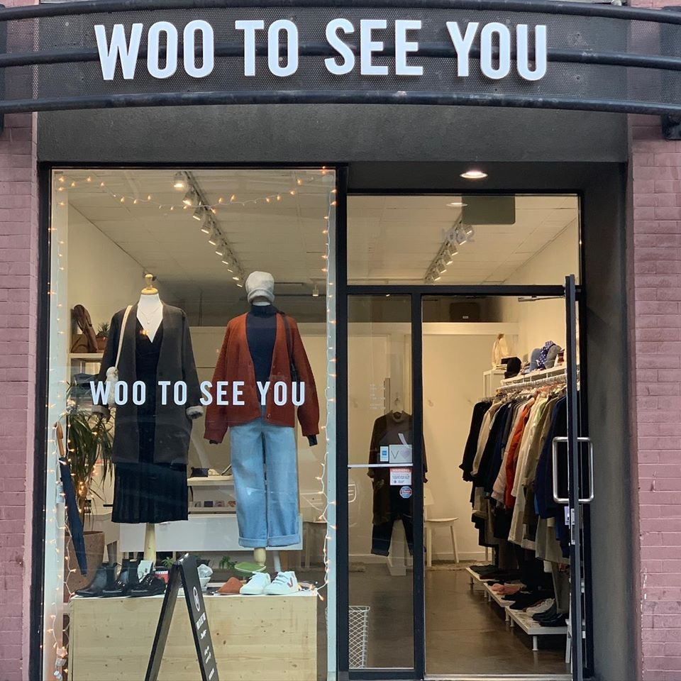 street view of Woo To See You store in Vancouver