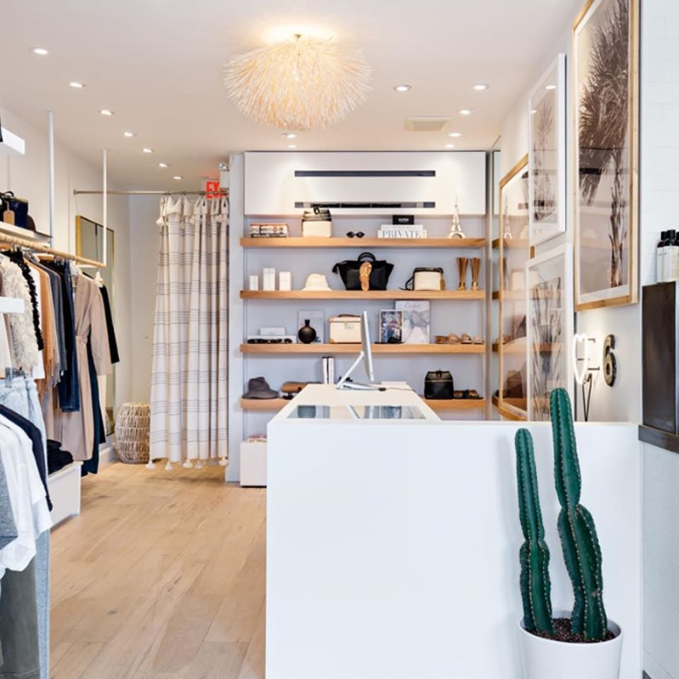 shop interior of 6 by Gee Beauty in Toronto