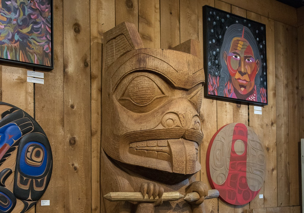 native arts' gallery Lattimer in Vancouver