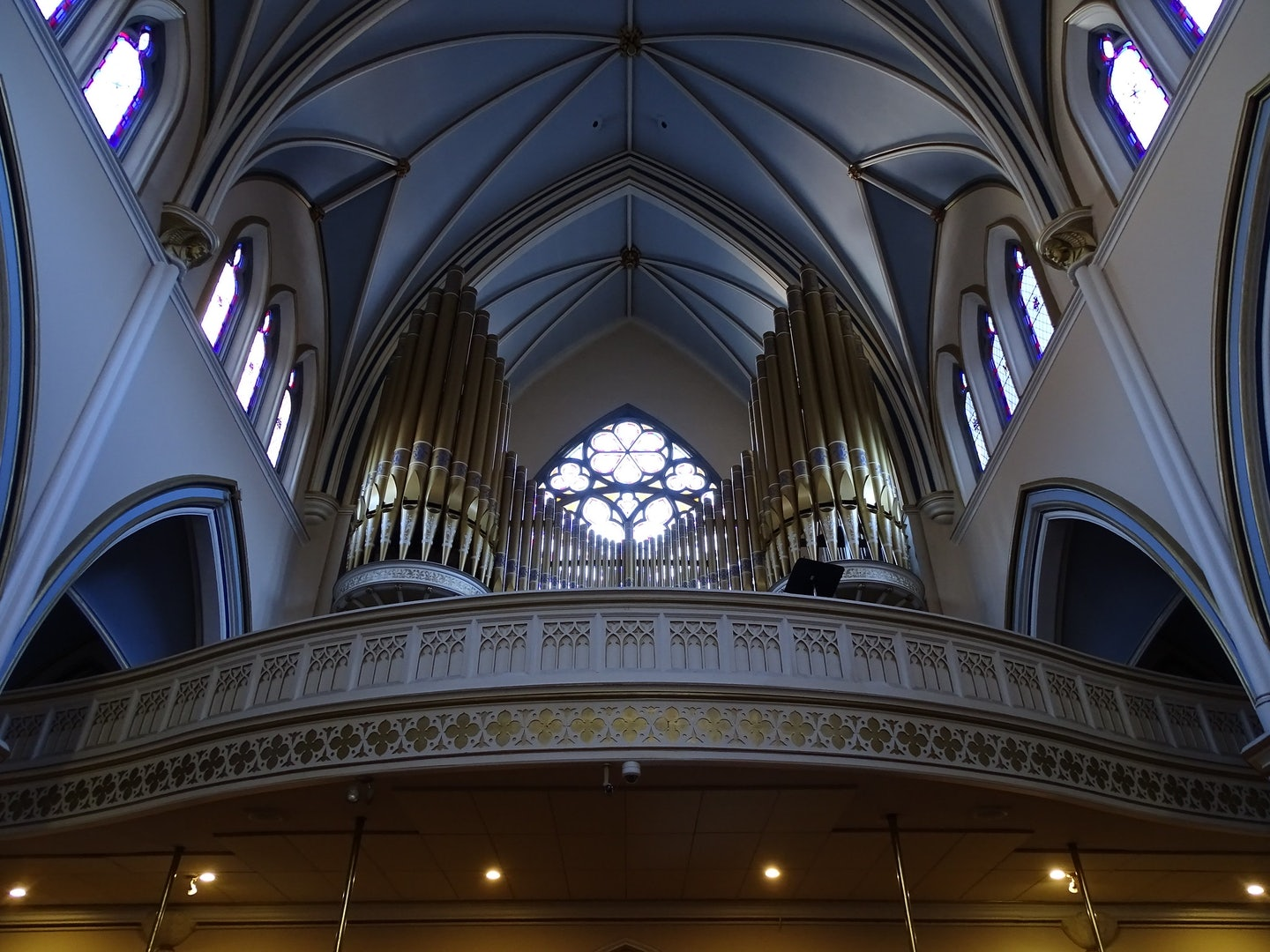 interior of the Holy Rosary Cathedral in Vancouver