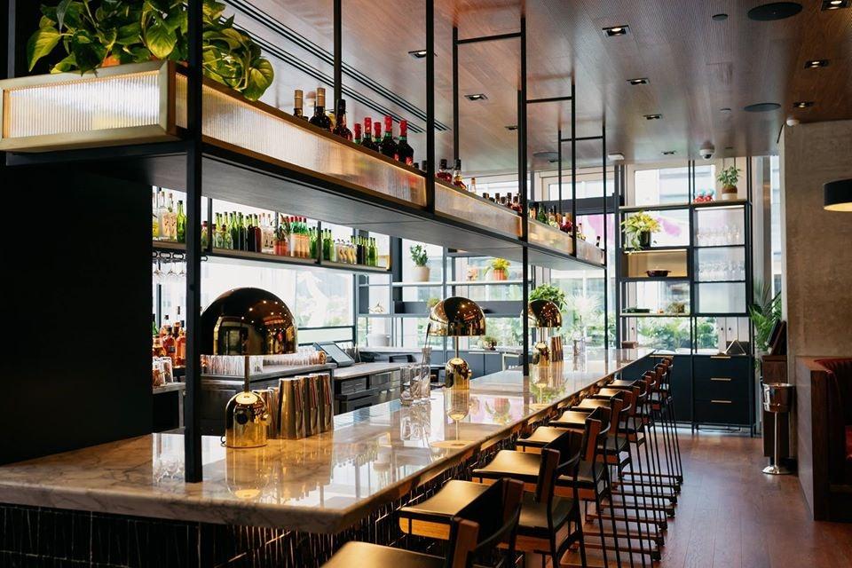 restaurant interior of Momufoko Toronto