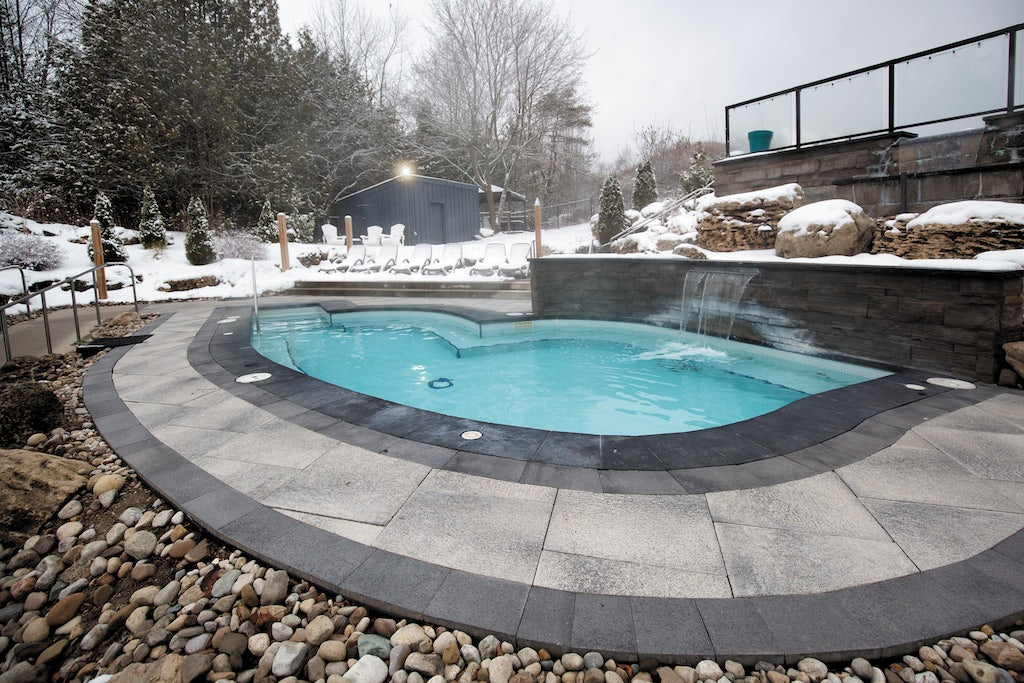 outdoor Jacuzzi at the Millcroft Inn & Spa