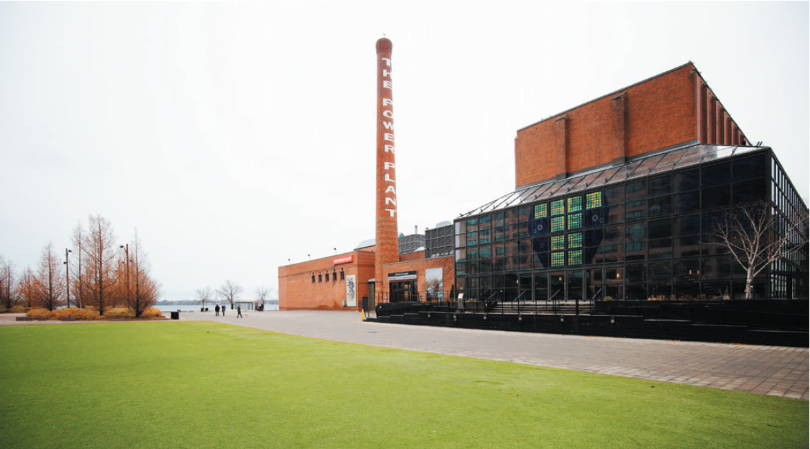 exterior of the Power Plant gallery in Toronto