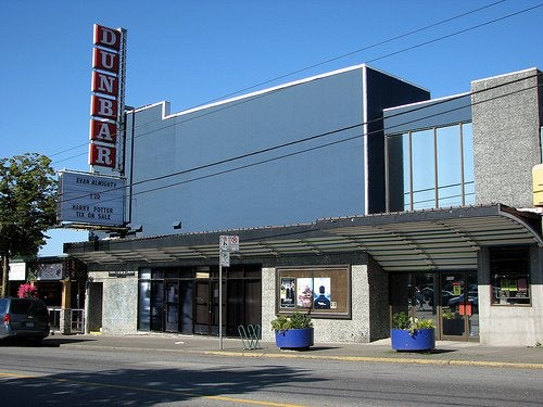 the Dunbar Theatre in Vancouver