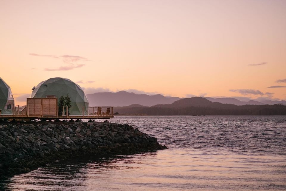 Wildpods Vancouver by sunset