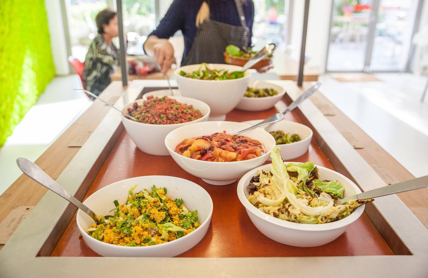 The Hague - Juni cafe salad buffet
