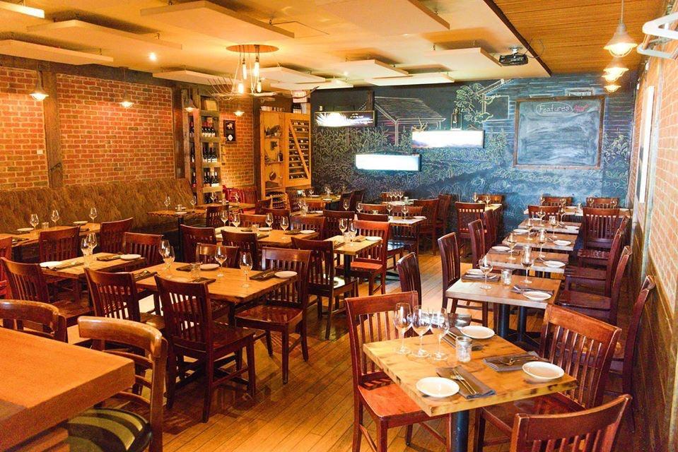 Fable restaurant interior