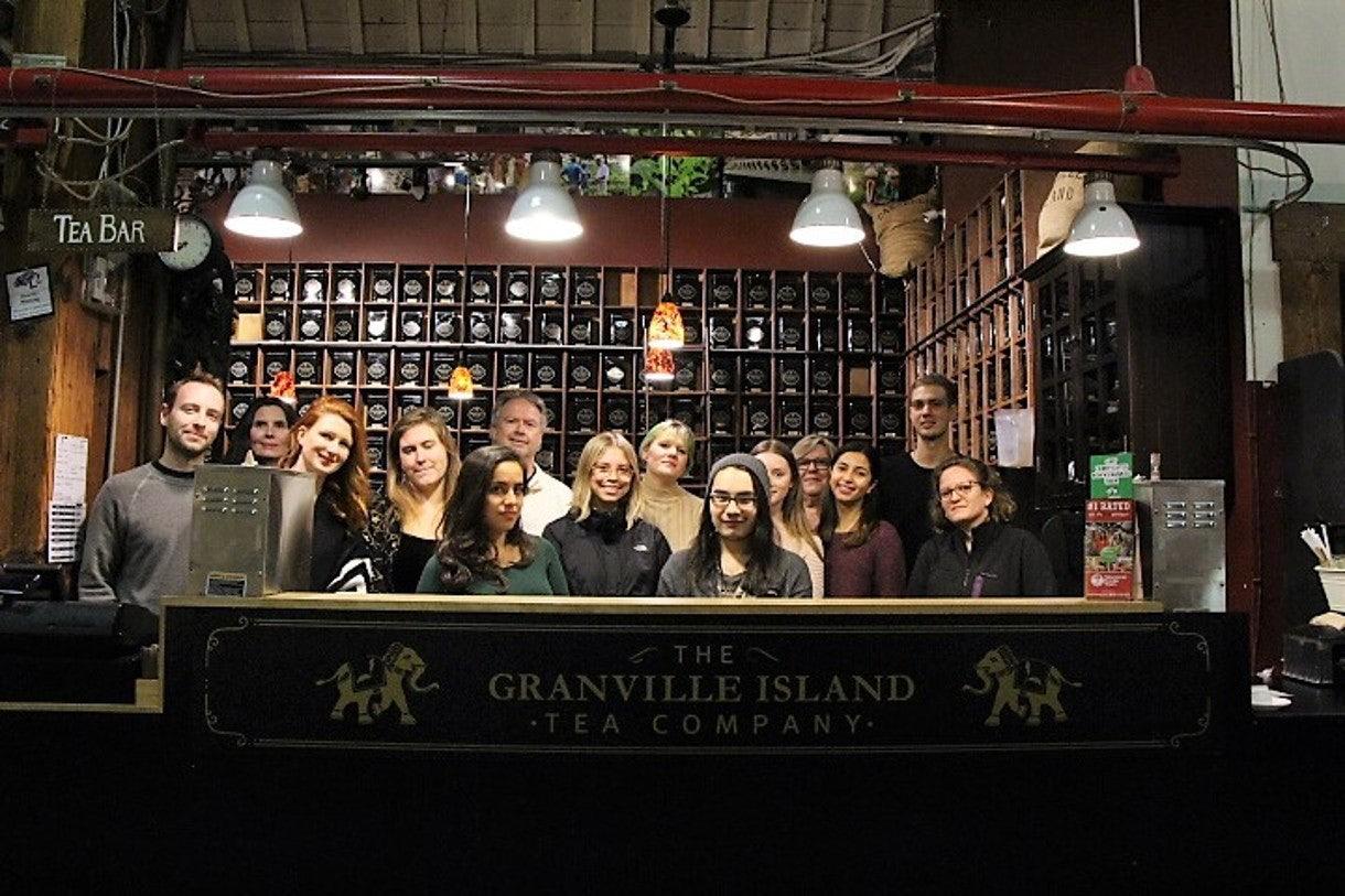 staff at Granville Island Tea Company