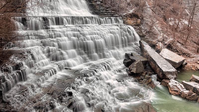 The Albion falls near Toronto