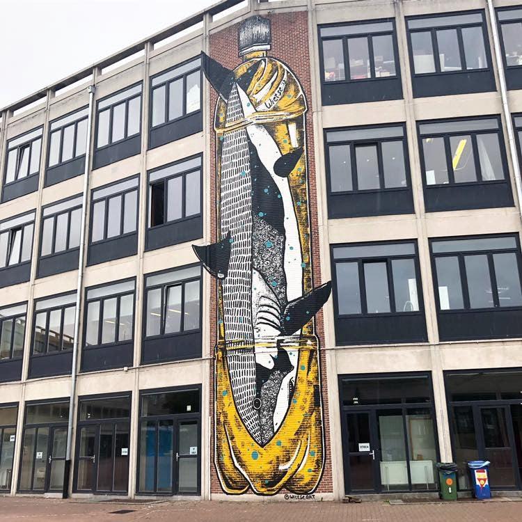 Belgium - Street art - Wietse Ostend