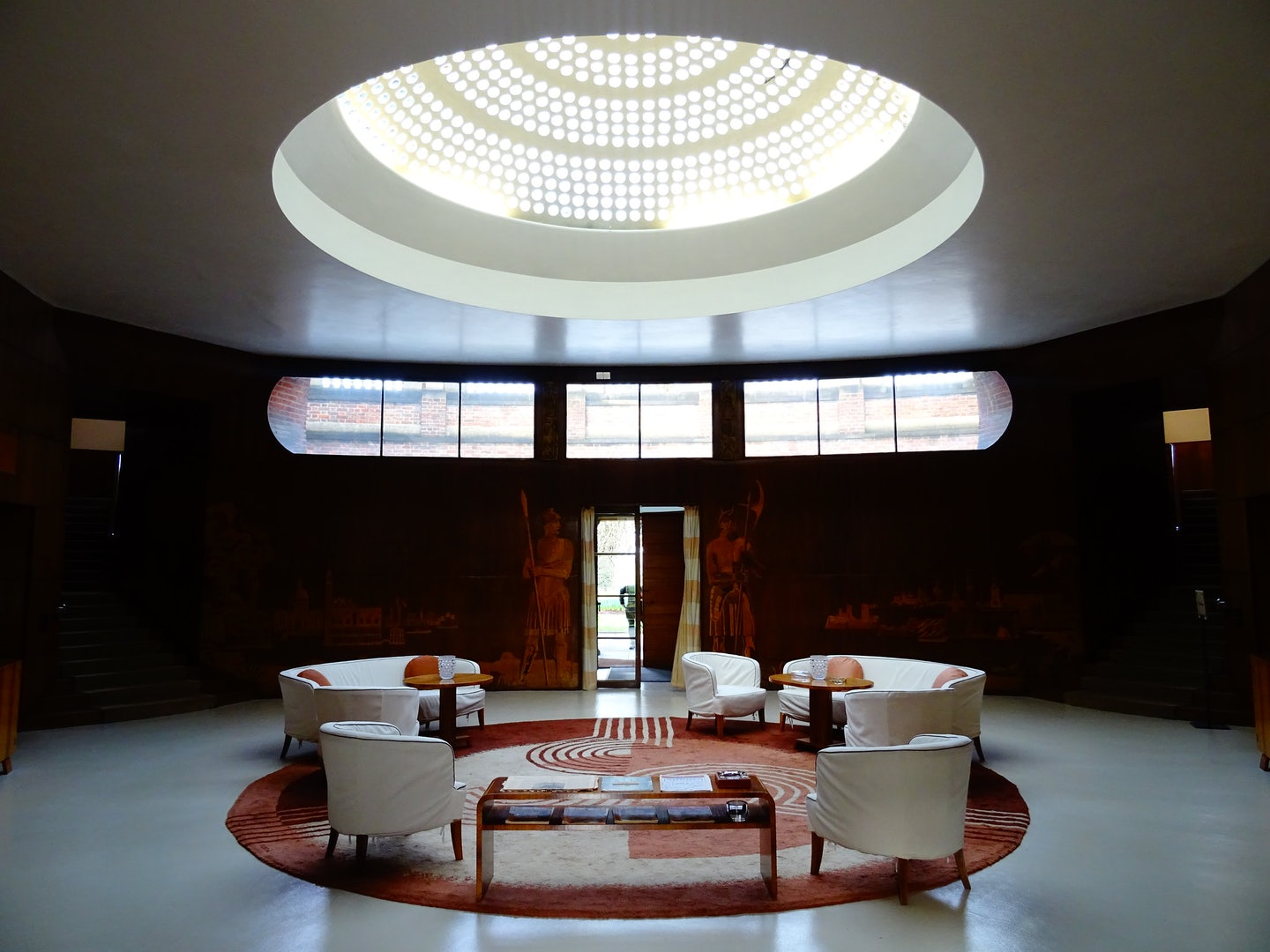 art deco interior of the Eltham Palace