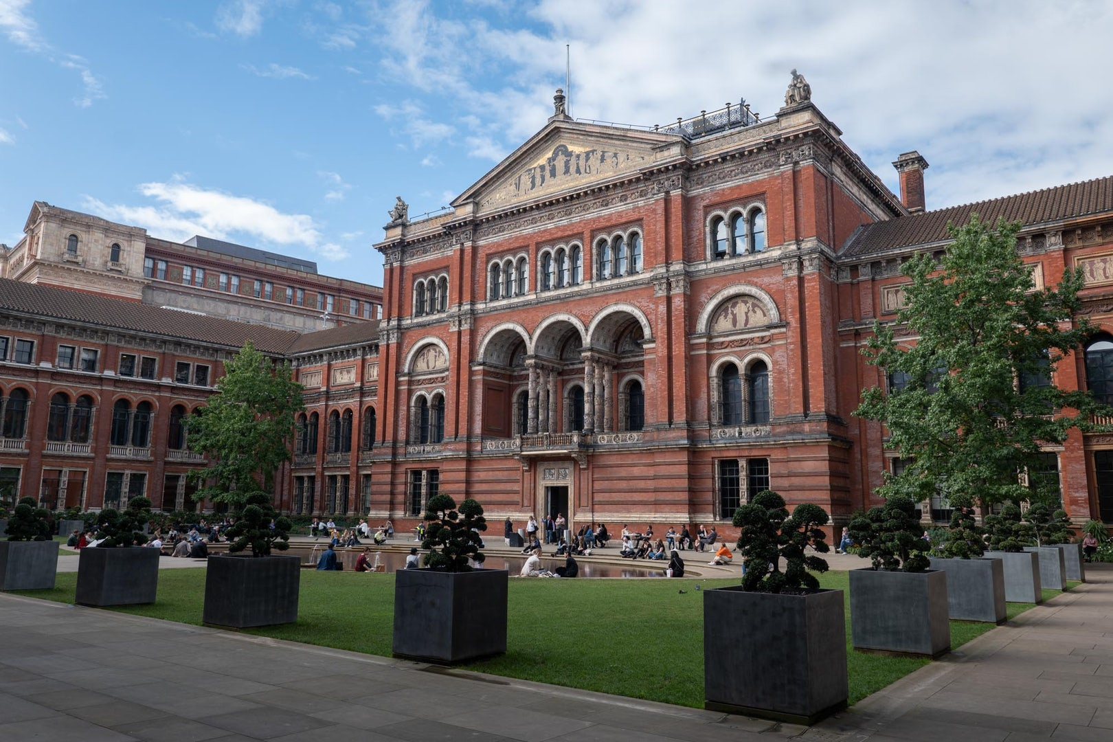 exterior of the V&A Museum in London