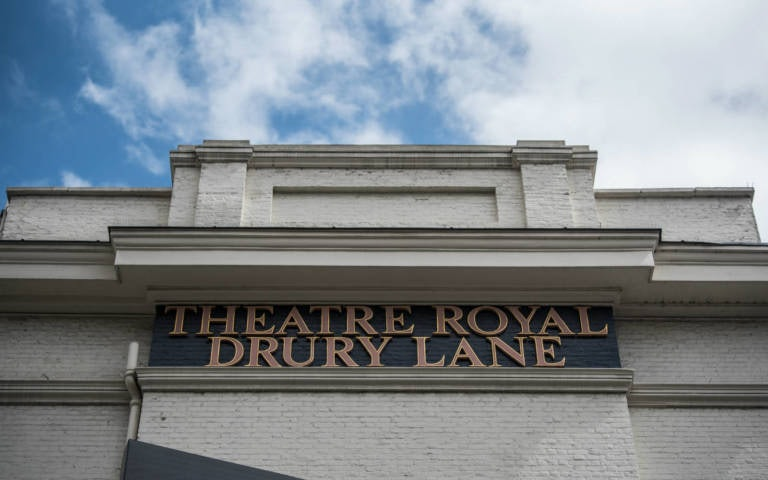 facade of the Theatre Royal Drury Lane