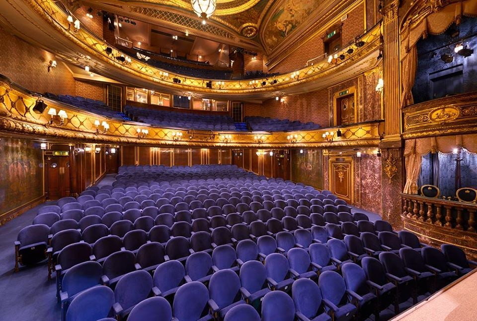 interior of the Theatre Royal Haymarket
