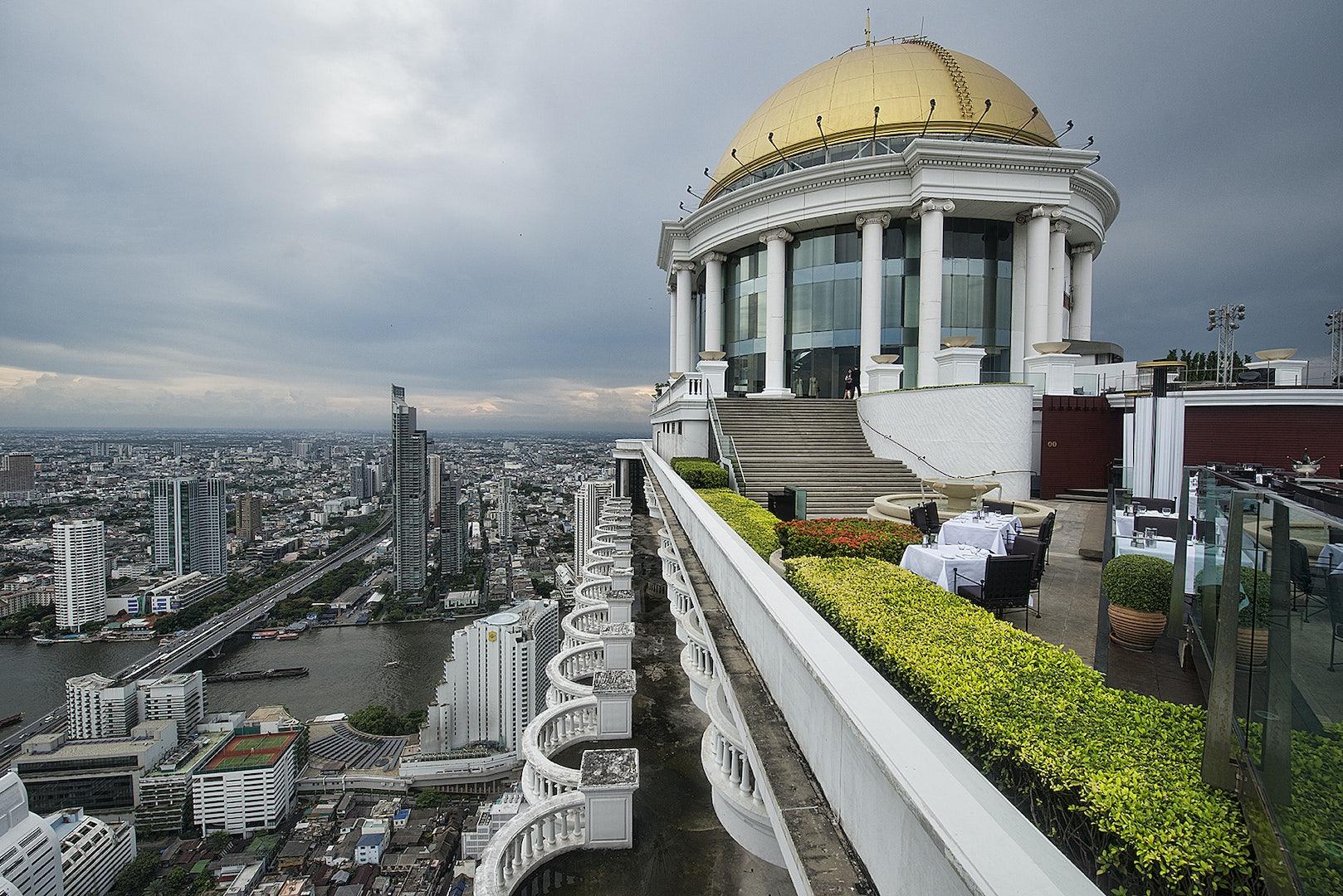 Bangkok - Skybar from The Hangover II