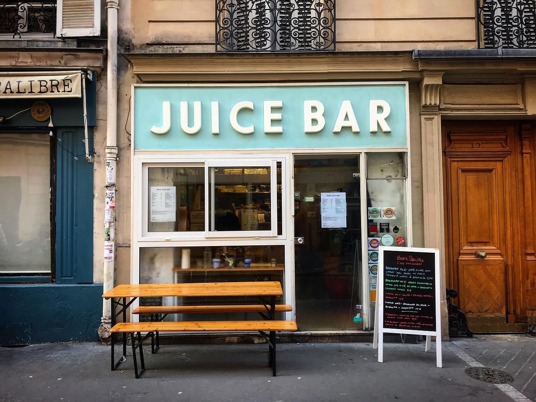 Bob's Juice bar in Paris