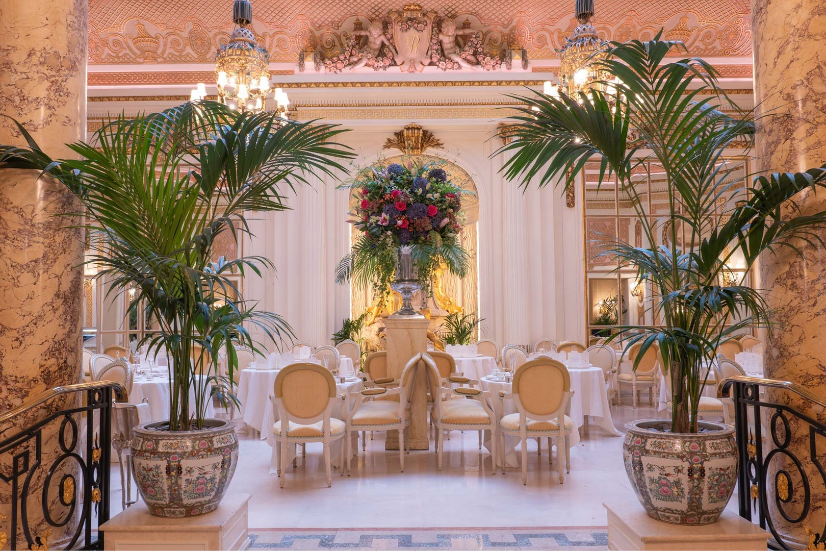 Palm Court at The Ritz Hotel London