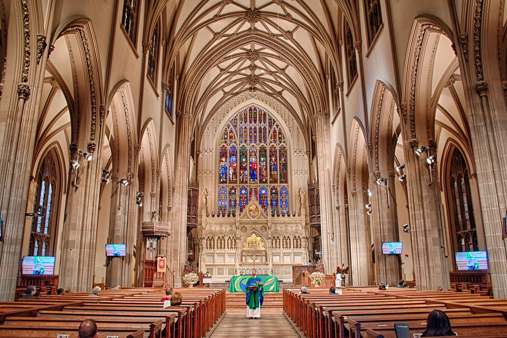 interior of Trinity Church New York