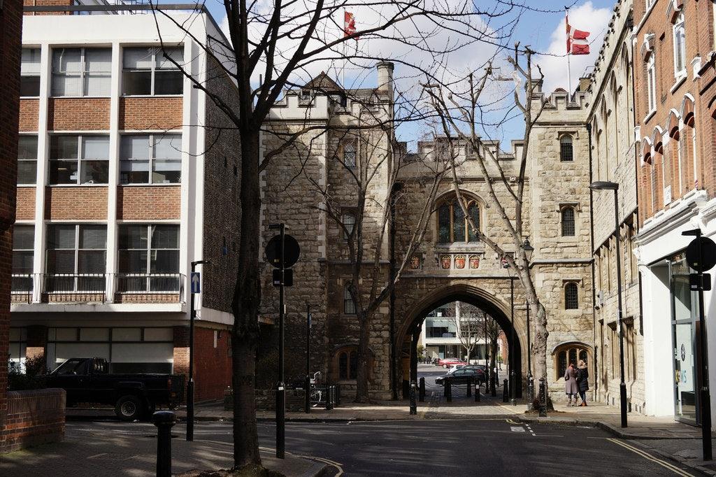 St John's Gate in London