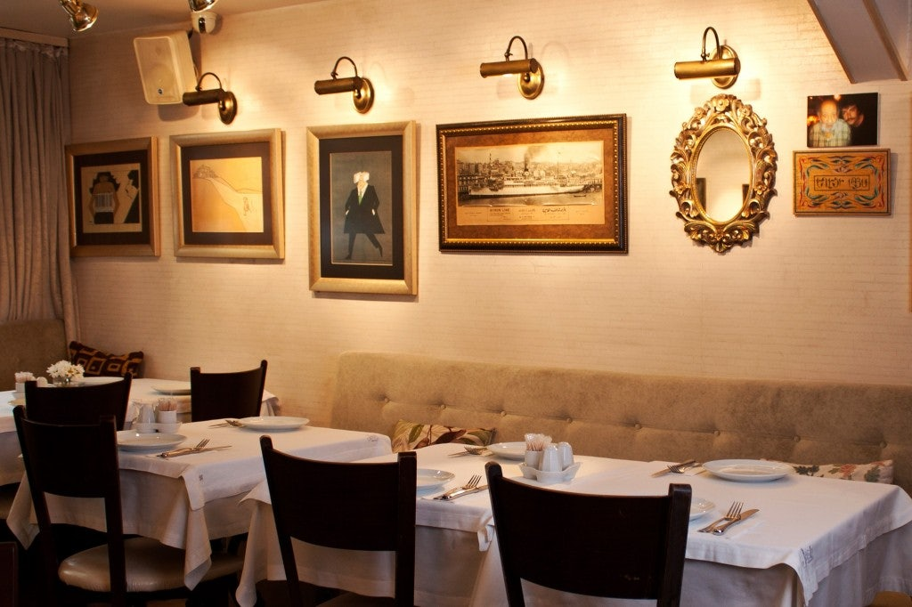 restaurant interior of Jash Balik Kinaliada