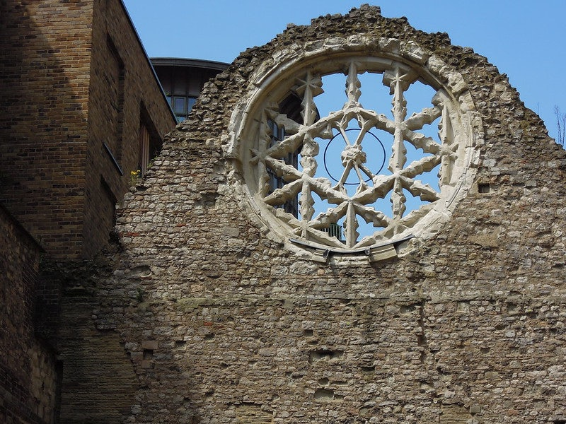 ruins of the Winchester Palace London