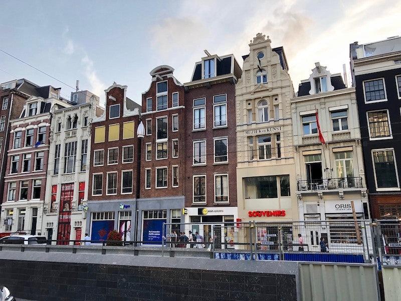 Amsterdam houses in Rokin