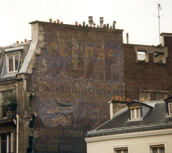 old publicity of Suze in Paris
