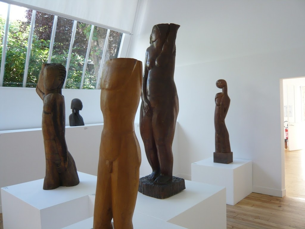 sculptures at the Musée Zadkine in Paris