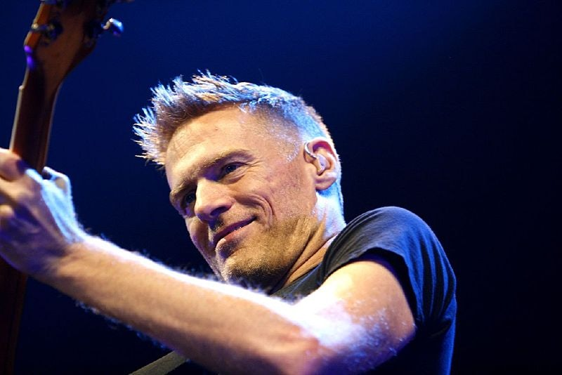 Vancouver - Bryan Adams on stage