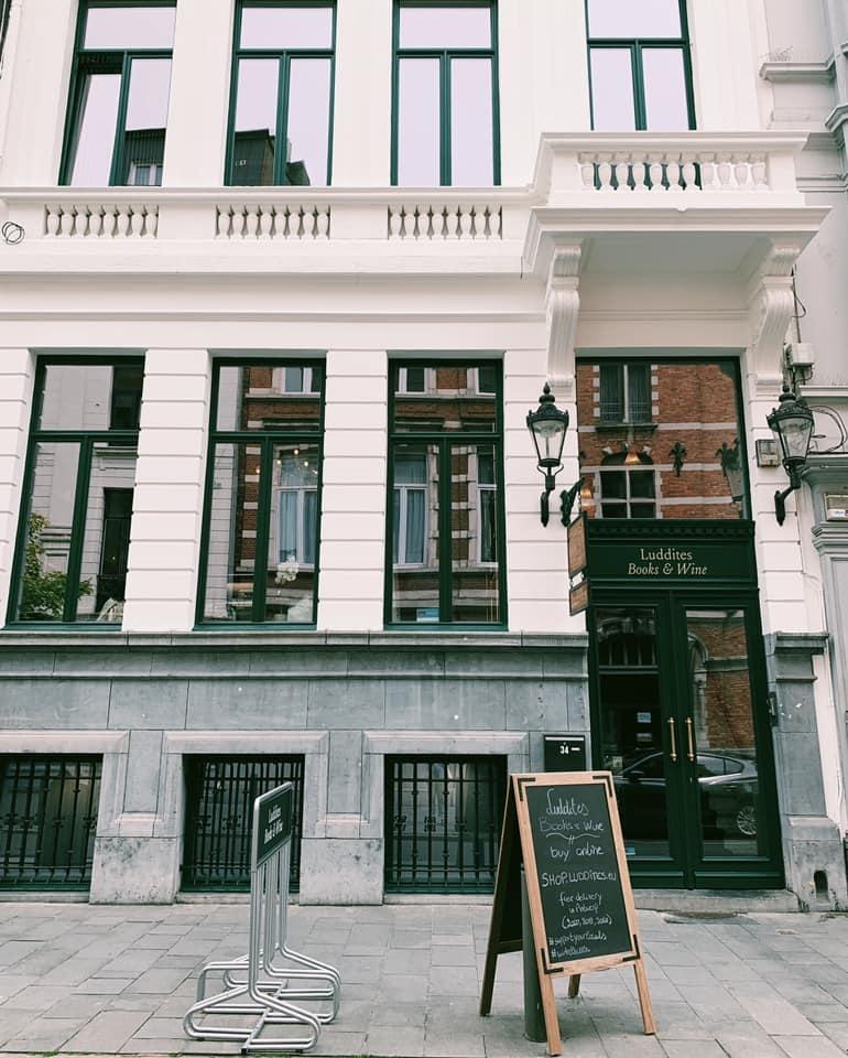 Antwerp - Luddites facade