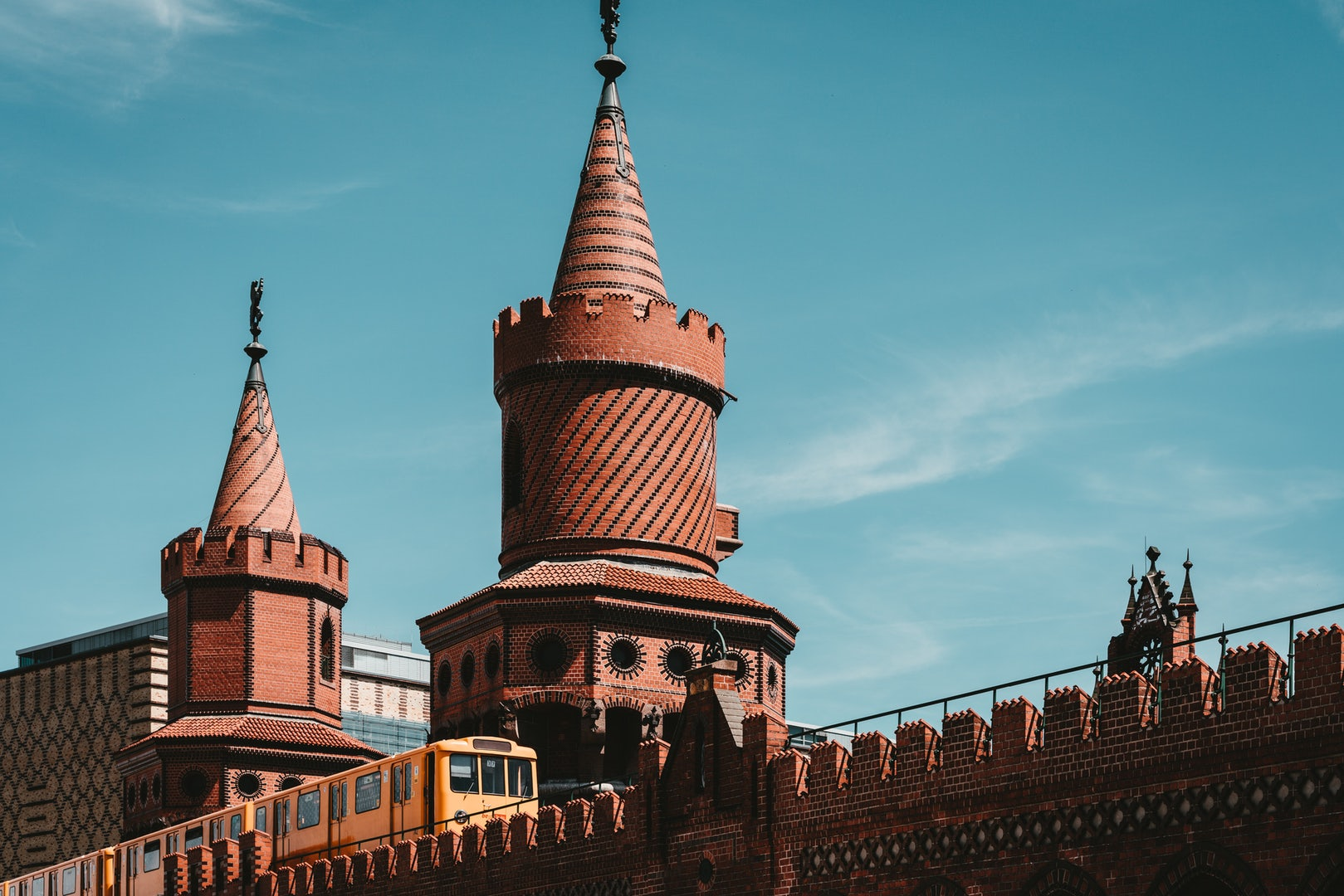 towers of the Berlin Oberbaumbridge