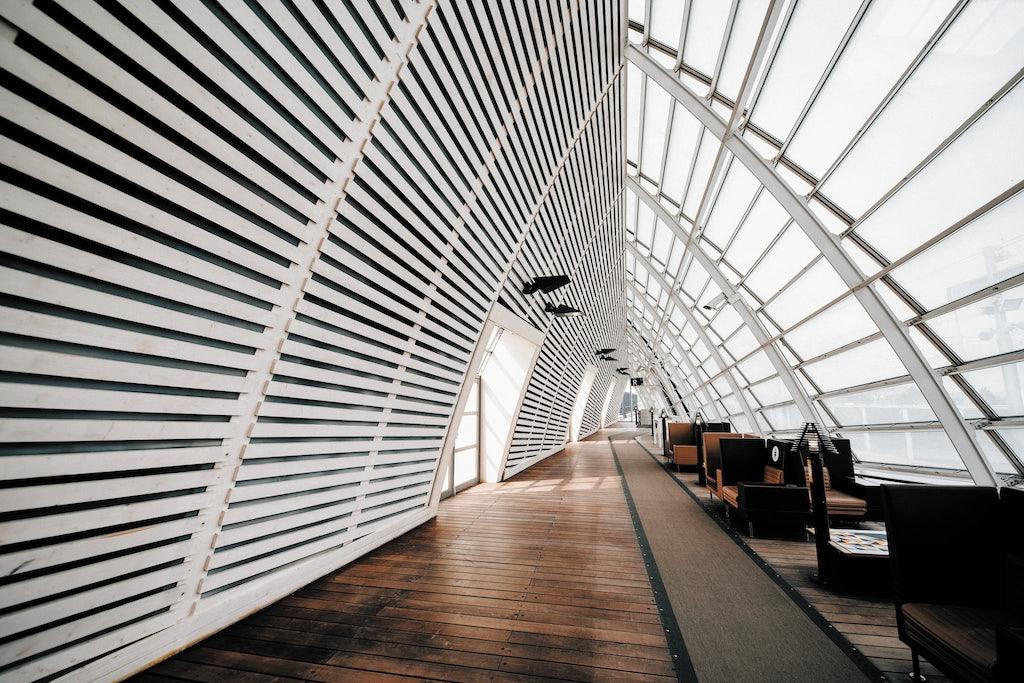 interior of Gare d'Avignon TGV