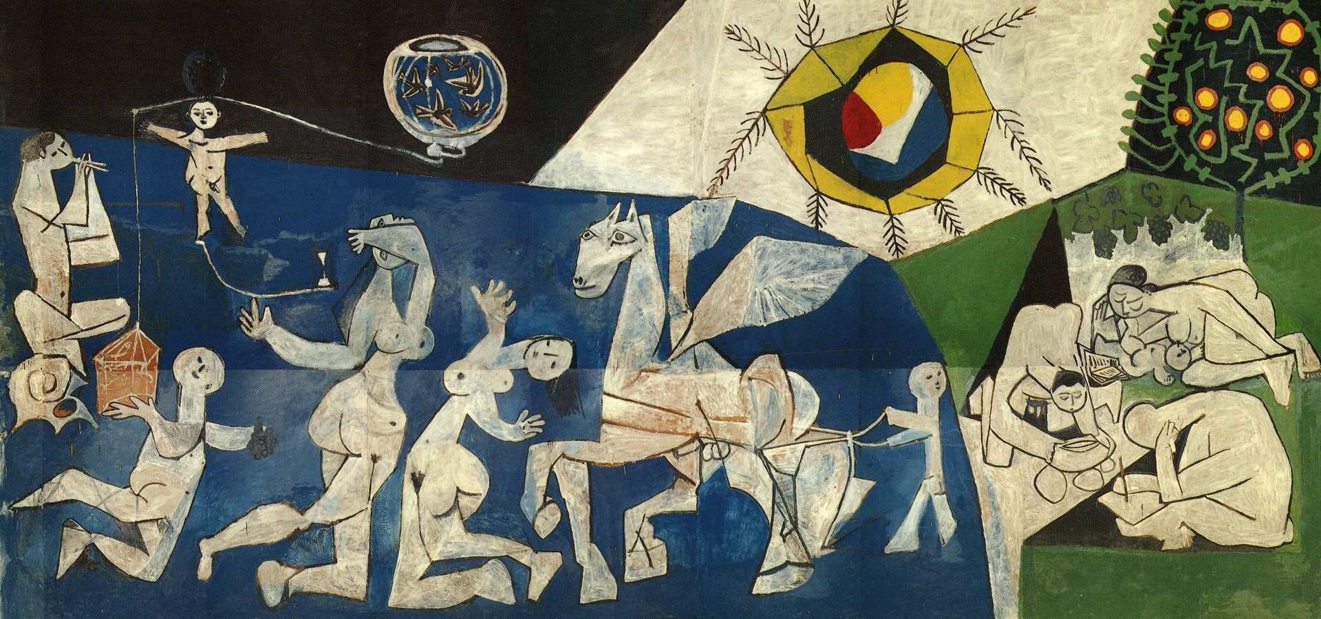 Artwork by Pablo Picasso called 'War'