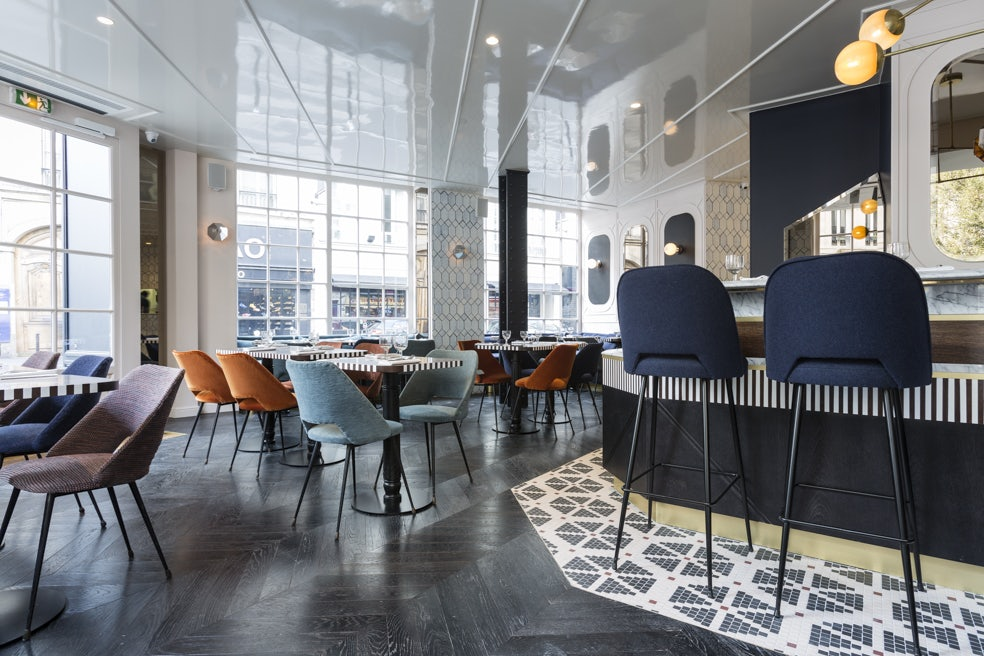 restaurant area at Hôtel Panache in Paris