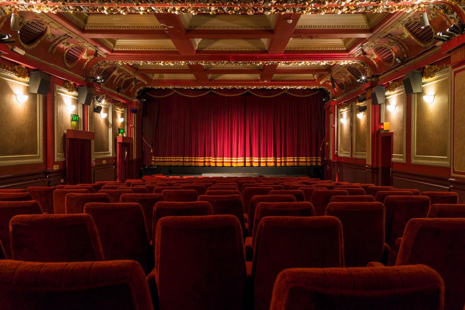 interior of The Gate cinema