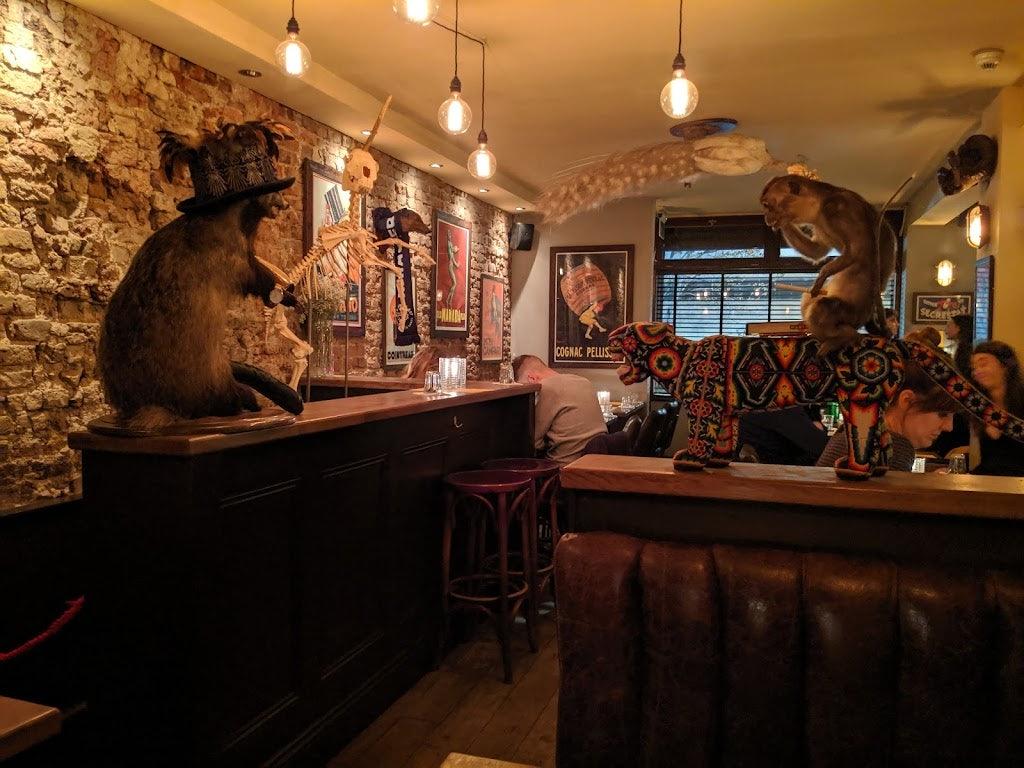 bar interior of Satan's Whiskers